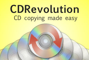 CDRevolution. CD copying made easy.