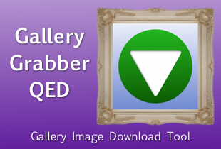 Gallery Grabber QED. Gallery image download tool.